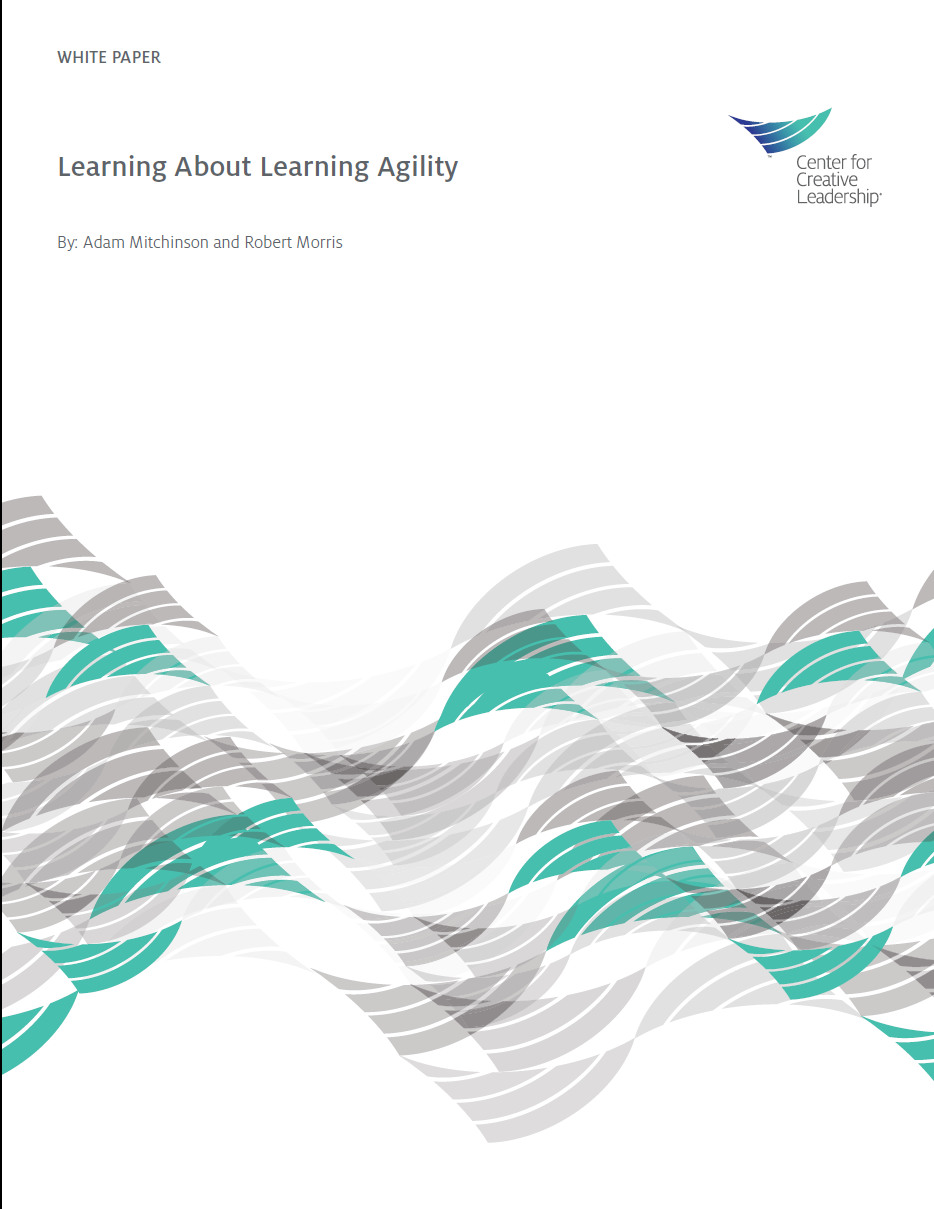 Learning about Learning Agility