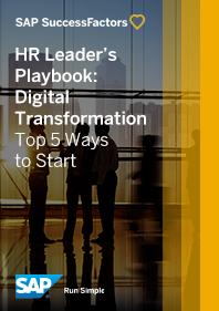 HR Leader's Playbook for Digital Transformation